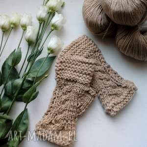 rękawiczki mitenki, zamówienie indywidualne, rękawiczki