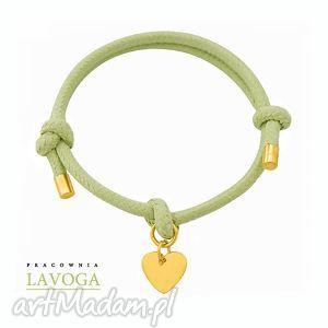pistachio twine with heart - zawieszka, serce