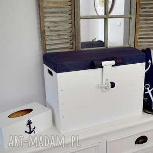 skrzynia na zabawki nautical, marynistyczne, pokój dziecka, prezent, kufer