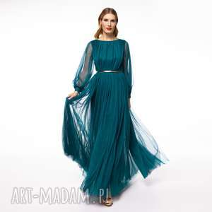 suknia mila, galowa, balowa, elegancka, tiulowa, karnawał, studniówka, unikalne