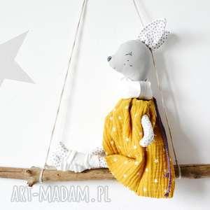 ręcznie zrobione zabawki sarenka gloria miodowa