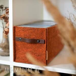 pudełka pojemnik na płyty cd, solidny, kolorowy, przechowywanie