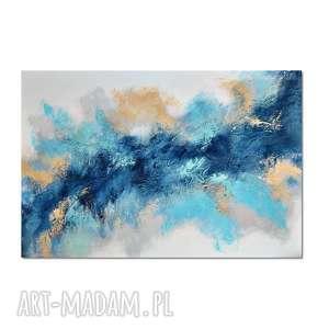 aurora 4, nowoczesny obraz ręcznie malowany, obraz, autorski, malowany