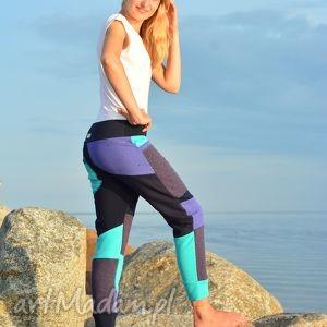 patch pants - eco spodnie damskie, oryginalne, dres, ciepłe, wygodne, ciążowe