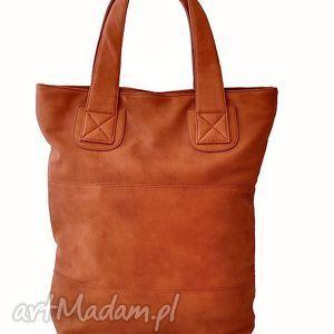 torba na ramię v 10-01 coffee, duża, pojemna, torba, codzienna, prosta, format