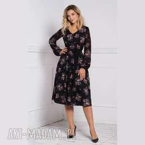 Sukienka amber midi adelajda sukienki livia clue midi, na jesień
