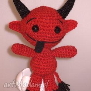 diabełek, prezent, mikołajowy, maskotka, przytulanka