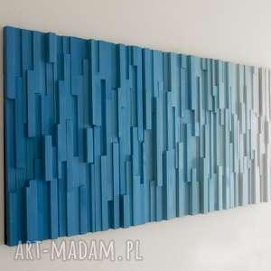 obraz drewniany 3d na zamówienie, wallart, mozaika, obraz, 3d, rzeźba, ścianka