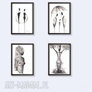 grafiki czarno-białe zestaw - zamówienie specjalne