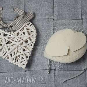 handmade ozdoby do włosów serca dwa