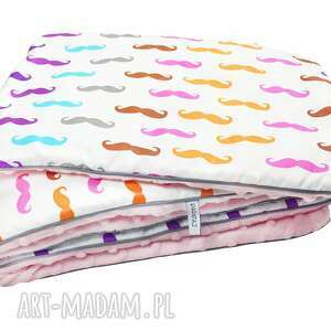 zestaw pościel do łóżeczka, pościel, kocyk, niemowle, dziecko, minky, bawełna dla