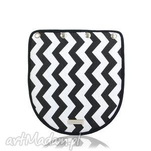 klapka puro 264 black and white, klapkomania, puro, zygzag
