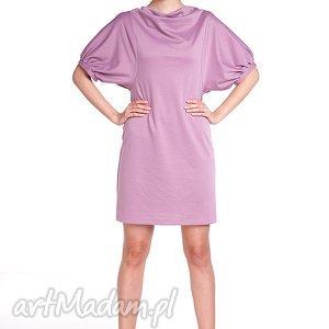 handmade sukienki sukienka marcela - róż antyczny