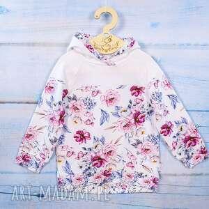 lilla bluza dziewczęca, z kapturem, dla dziewczynki, wygodna