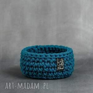 kosze koszyk niski s - niebieski morski, koszyk, koszyczek, upomienk, prezent