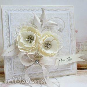 scrapbooking kartki ślub w diamentach, ślub, życzenia, gratulacje, diamenty