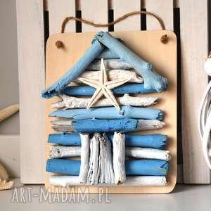 oryginalny prezent, dekoracje z drewna domek rybaka, dom, domek, drewna, drewniany