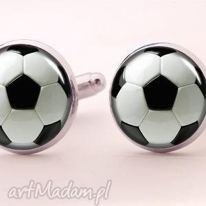 piłka nożna - spinki do mankietów, piłkarz, football