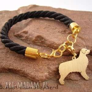 Prezent Bransoletka owczarek australijski pies nr.38, bransoletka, pies, rasy-psów
