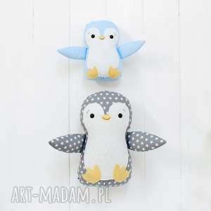 hand made maskotki duży pingwin
