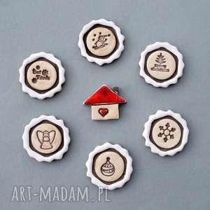 messengery-magnesy ceramiczne, wiadomość, prezent, wyjątkowy, on, kolekcjoner