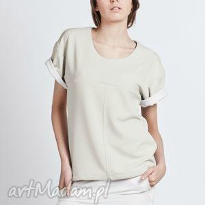 ręcznie robione bluzki bluzka, blu104 beż