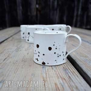 handmade ceramika kubek ceramiczny niski - zestaw 6 szt