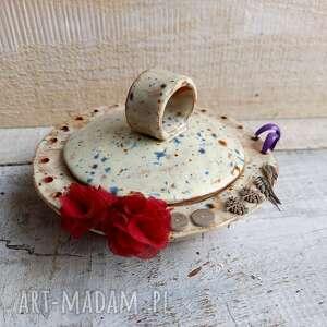 miseczka na kolczyki biżuterię handmade