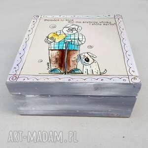 pudełko dziadek, pudełko, szkatułka, 4mara