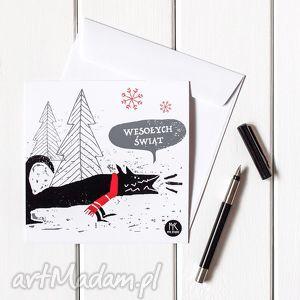 ręczne wykonanie na święta upominki autorska kartka świąteczna