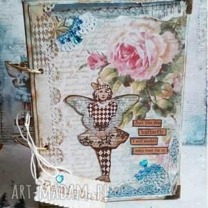 Prezent Pamiętnik/Tajemniczy świat motyla..., pamiętnik, notes, motyl, gwiazdy