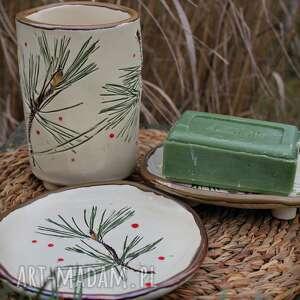ceramika zestaw łazienkowy sosna, łazienkowy, komplet do łazienki