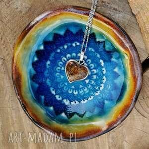 ręcznie zrobione ceramika ceramiczny talerzyk (c173)