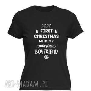 Pomysł na prezent świąteczny! Koszulka z nadrukiem pierwsze