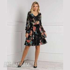 sukienka wendy mini hiacynta, mini, luźna sukienka, na jesień
