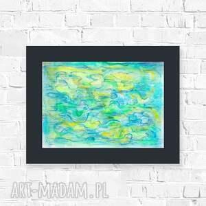 abstrakcyjny rysunek, abstrakcja obraz, nowoczesna grafika do loftu, akwarela