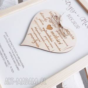 prezent ślubny na ślub życzenia ślubne upominek upominki, ślubny