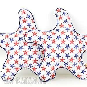 poduszka dekoracyjna 45x45cm - rozgwiazda - poduszki, dekoracja, prezent, przytulanka