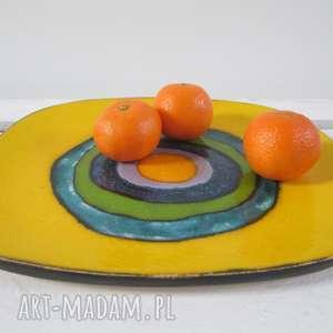 dekoracyjny talerz Sahara eye, energetyczny-talerz, talerz-ceramiczny