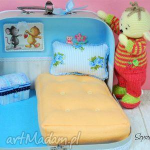 hand-made zabawki domek dla misia