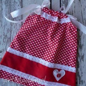 sukienka love, majuhandmade, sukienka, ubranka, dziecko, props, święta prezent