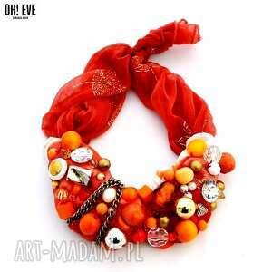 handmade naszyjniki orangina naszyjnik
