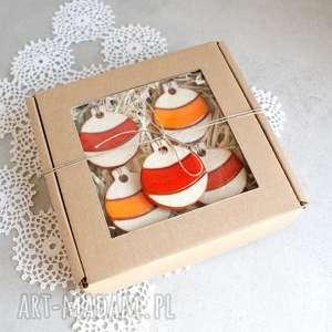 pracownia ako bombki - zawieszki ceramiczne, ozdoby świąteczne, bombki