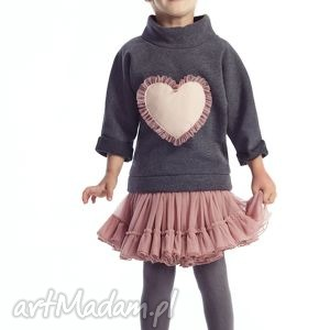 bluza azalea, dodo, serce, bluza, tiul, bawełna, unikalny prezent