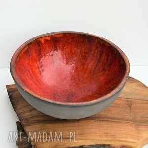 misa ceramiczna lawa, ceramika, misa, miska, patera, ozdoba, prezent