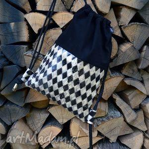 ręcznie wykonane na ramię bbag szach mat plecak skóra naturalna