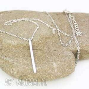 naszyjnik srebrna celebrytka, naszyjnik, łańcuszek, minimalistyczny