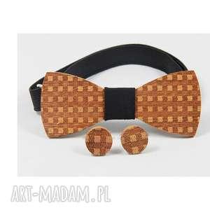 Zestaw #18 muchy i muszki the bow ties muszki, drewno,
