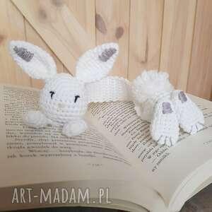 hand-made zakładki zakładka do książki królik