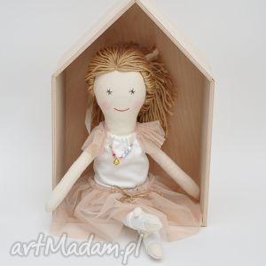 Prezent Lisa w zestawie Latte, lalka, szmacianka, tiul, kawazmlekiem, prezent